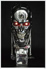 TERMINATOR T800 BUSTO 1:1 LED endoscheletro cranio skull arnold T 800 T2 T1000