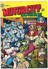 Motor City Comics #2, R. Crumb, 3rd printing Rip Off Press 1970 VF-