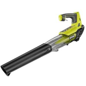 New Ryobi P2108A 18V ONE+ 100mph 18-Volt Lithium-Ion Jet Fan Blower (Tool Only)