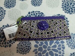 Vera Bradley Hangin Out Wristlet Simply Violet 11082-051 NWT