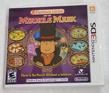 Professor Layton and the Miracle Mask 3DS NEW SEALED Nintendo