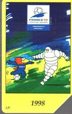 28-Scheda telefonica Michelin France 1998 scadenza 30/06/2000 lire 5.000