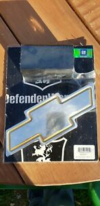Defender Worx Chevy Gold hitchcover
