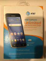 New sealed SAMSUNG Galaxy Express Prime SM-J320A - 16GB Black (AT&T) Smartphone