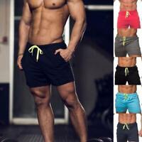 Fashion Men's Swim Shorts Beach Swimwear Swimming Trunks Underwear Boxer Briefs