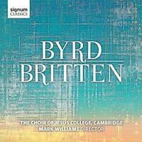 The Choir of Jesus College Cambridge - Byrd / Britten [CD]