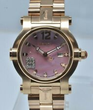 New Ladies Renato Beauty 36mm Watch - Push button quick change With Extra Strap