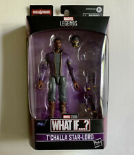 Marvel Legends What If? T'Challa Star Lord Disney Black Panther -NO BAF-