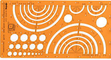 Rotring Zeichenschablone Art. 831648 Dimetrische Ellipsen 1:1,13 DIN 5