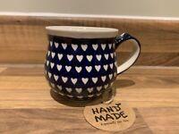 Mug 0.23L Handmade Polish pottery Boleslawiec