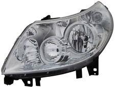 Clear chrome finish Left side headlight front light for CITROEN Jumper 06-10 TYC