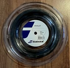 Babolat RPM Blast 17 Reel (125 1.25mm Tennis String) Full 200m/660ft. Black. New