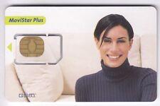 TELECARTE GSM SIM COLLECTOR .. ESPAGNE GEMPLUS MOVISTAR SEXY +N° 609 CHIP/PUCE