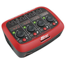 Hitec 44212 X4 Micro AC / DC 1 Cell Fast LiPo Battery Charger