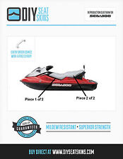 GTS GTI SEA DOO SILVER Seat Skin Cover 02 03 04 05 06/7 FREE EMAILED PDF MANUAL!