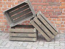 3 Große 25kg Apfelkisten Kiste Holzkisten Holz Deko Weinkiste Obstkisten 2. Wahl