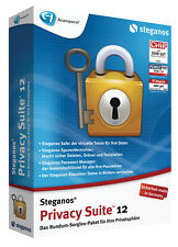 Steganos Privacy Suite 12  Daten schützen und Verschlüsseln von Steganos