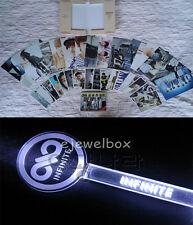 K-POP INFINITE PHOTO CARD / POST CARD/ MEMO PAD+ACRYL CONCERT LIGHTSTICK SET