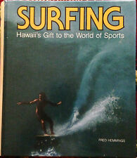 Surfing Hawaii'S Gift To The World O Sports Fred Hemmings 1977 Hard Spiral Cover