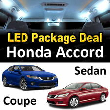 White LED Interior Package + License Plate for Honda Accord Sedan & Coupe #A1