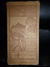 ROSSINI GALENO MANUALE ENIGMOFILO  BERTERO 1905  AUTOGRAFATO enigmistica giochi