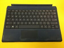 OEM Microsoft Keyboard Model 1654 Type Cover Deep Blue for Surface 3 Grade B