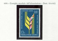 19137A) UNITED NATIONS (New York) 1976 MNH** Nuovi**Food + lab