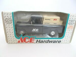 1955 Chevrolet Cameo Pickup Truck Bank (ERTL 1994 Issue For ACE Hardware) NIB