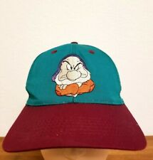 Highly Collectible Vintage Disney 1994 Snow White & the Seven Dwarves Grumpy Hat
