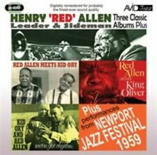 Three Classic Albums Plus 5022810304920 by Henry Red Allen CD