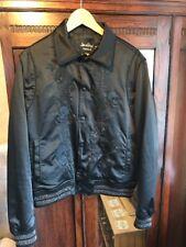 Men's Rare Sold Out Topman X James Bay Black Souvenir Jacked Uk M