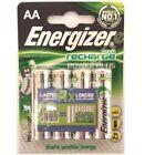4X Energizer AA 2000mAh Más Pilas Recargables Batería 2000