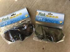 (Lot Of 2) Adult Swimming Goggles (black)