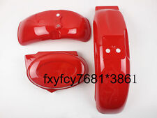 Red Plastics Fenders Fairings Body Honda Monkey Z50 Z50R 50J Z110 Z125 Skyteam