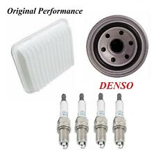 Tune Up Kit Air Oil Filters Spark Plugs For MITSUBISHI ECLIPSE L4 2.4L 2010-2012