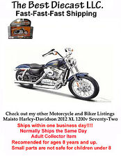 Maisto Harley-Davidson 2012 XL 1200v Seventy-Two 1:18 Scale