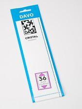 DAVO CRISTAL STROKEN MOUNTS C36 (215 x 40) 18 STK/PCS