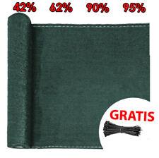 Zaunblende Tennisblende Sichtschutz Zaun Netz Schattier Gewebe Windschutz 42-95%