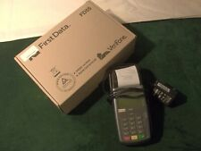 Used First Data Verifone Fd55 Pos credit card Termlnal Thermal