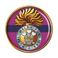 Royal Gallois Fusiliers, Armée Britannique Broche Badge