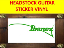 IBANEZ GREEN LEFT HANDED GUITAR ZURDO HEADSTOCK VISIT OUR STORE WITH MORE MODELS