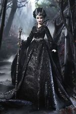 Queen of the Dark Forest Gold Label Barbie Doll,New In Box & 2015 Catalog