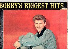 "RARE.BOBBY RYDELL.BIGGEST HITS.U.S.ORIG ""DIE-CUT"" LP + STIFF CARD/PHOTO INSERT."