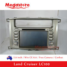 "7.0"" Car DVD Player GPS For TOYOTA LANDCRUISER 100 series 1998 - 2007 canbus"