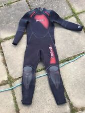 Bare- unisex 7mm Backzip Wetsuit size small