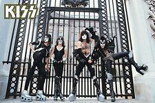 KISS - AT THE GATE POSTER - 24x36 ROCK BAND SIMMONS MUSIC 241206