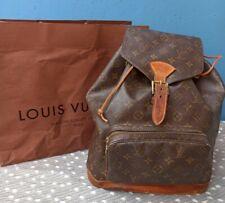 Louis Vuitton Montsouris GM Rucksack backpack