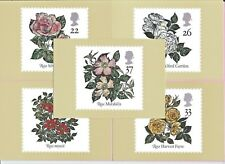 GB 1991 PHQ Cards #136 Complete Set - World Congress ROSES - Unused MINT
