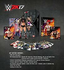 WWE 2k17 NXT EDITION COLLECTOR'S XBOX ONE NEW SEALED PAL UK ENGLISH COLLECTORS