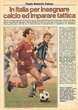 Ga30  Clipping-Ritaglio 1982 Paulo Roberto Falcao